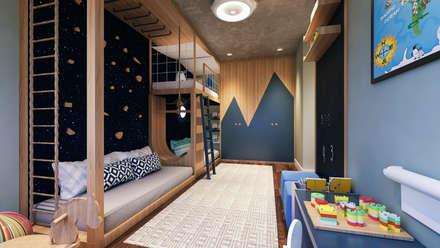 Dormitorios infantiles de estilo  por Entreponto Arquitetura