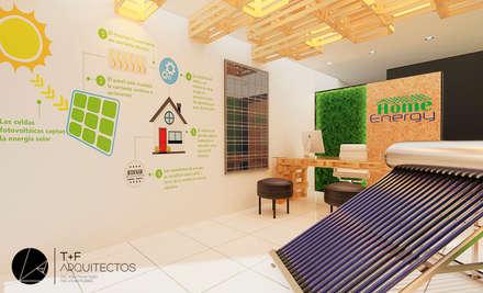 Centros de exhibición de estilo  por T+F Arquitectos