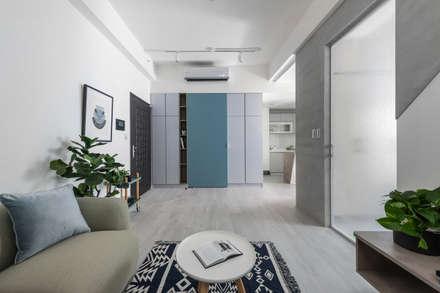 Corridor & hallway by 寓子設計