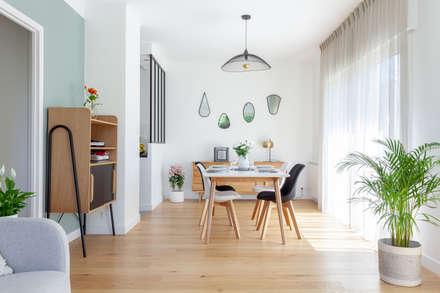 Aménagement et décoration de la piece de vie: Salle à manger de style de style Moderne par GRAM Architecture
