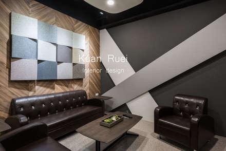 VIP室:  辦公室&店面 by 台中室內設計-寬叡- 空間設計.工程