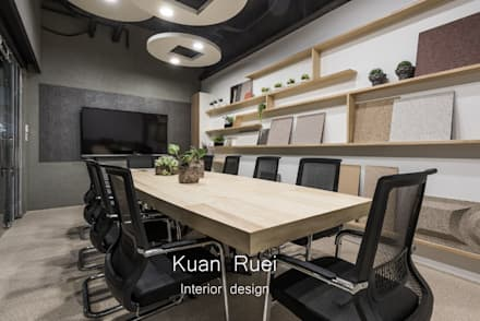 會議室:  辦公室&店面 by 台中室內設計-寬叡- 空間設計.工程