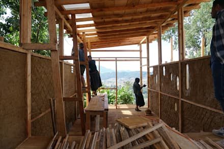 層疊式原木屋 by Juan Carlos Loyo Arquitectura
