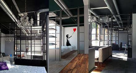 مكاتب ومحلات تنفيذ Farre+Stevenson Architettura