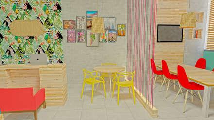 Oficinas y Comercios de estilo  por arqlar projeto personalizados e preços acessiveis