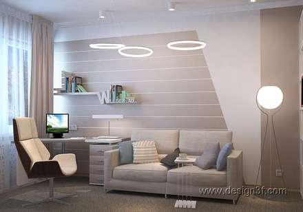 Комната в современном стиле для юноши: Рабочие кабинеты в . Автор – студия Design3F