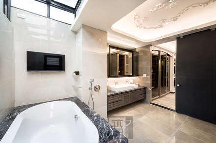 ห้องน้ำ by 沐築空間設計