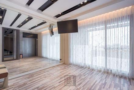 ห้องออกกำลังกาย by 沐築空間設計