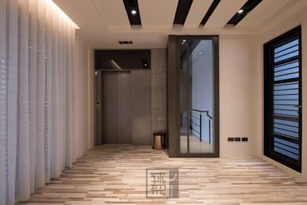 صالة الرياضة تنفيذ 沐築空間設計