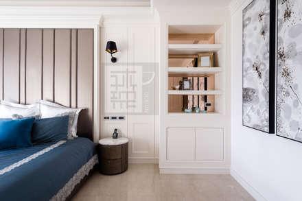 顏公館:  臥室 by 沐築空間設計