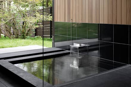 Spa in stile in stile Asiatico di atelier137 ARCHITECTURAL DESIGN OFFICE
