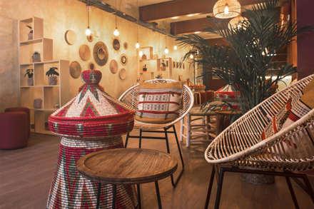TAITU: Locales gastronómicos de estilo  de ALAPAR ESTUDIO
