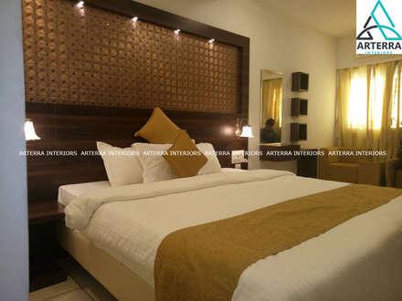 Hoteles de estilo  por Arterra Interiors
