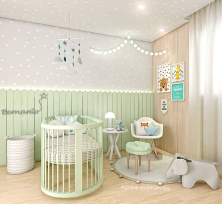 Baby room by Gabriela Andrade Arquitetura
