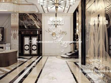 Дизайн-проект интерьера виллы в МайамиДизайн-проект интерьера виллы в Майами: Гостиная в . Автор – Дизайн-студия элитных интерьеров Анжелики Прудниковой