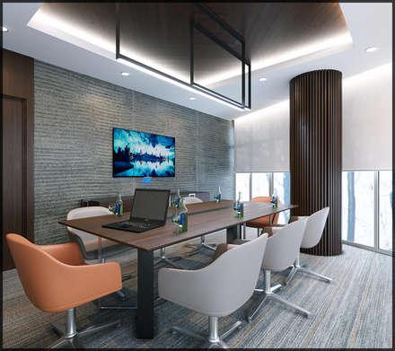 modern Study/office by Nuevo Tasarım
