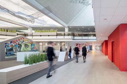 Lichtdecke von RENTEX Wand- und Deckensysteme GmbH - Sparkasse Paderborn:  Geschäftsräume & Stores von RENTEX Wand- und Deckensysteme GmbH