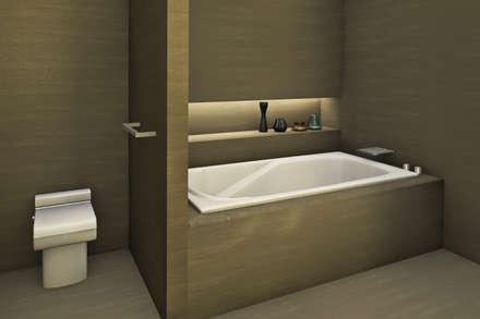 ห้องน้ำ by Studio Maiden