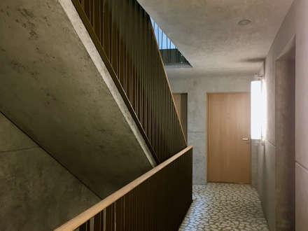 Treppenhaus:  Treppe von Juho Nyberg Architektur GmbH
