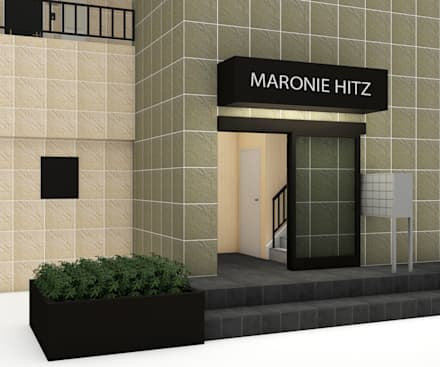 MARONIE HITZ : Condominio in stile  di Studio Maiden