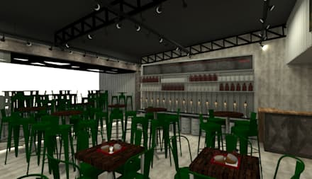 Bars & clubs by GABRIELA GUERREIRO | ARQUITETURA
