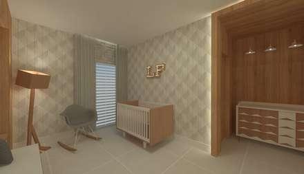 Habitaciones de bebé de estilo  de GABRIELA GUERREIRO | ARQUITETURA
