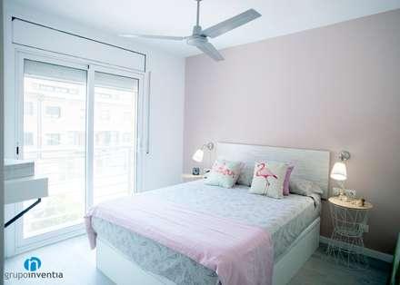 Dormitorio : Dormitorios de estilo escandinavo de Grupo Inventia