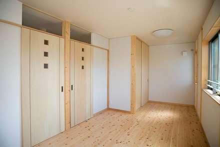 ห้องนอนเด็ก by 中浦建築事務所