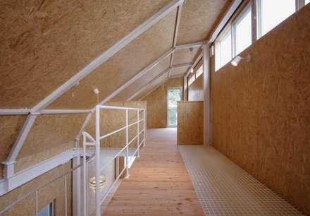 S邸: アービア設計事務所が手掛けた屋根です。