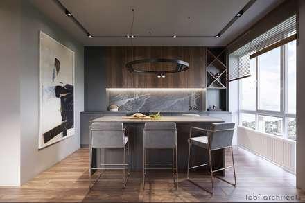 :  Küchenzeile von Tobi Architects