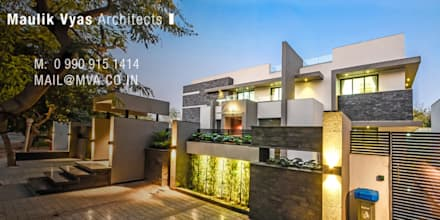 Multi-Family house by Maulik Vyas Architects