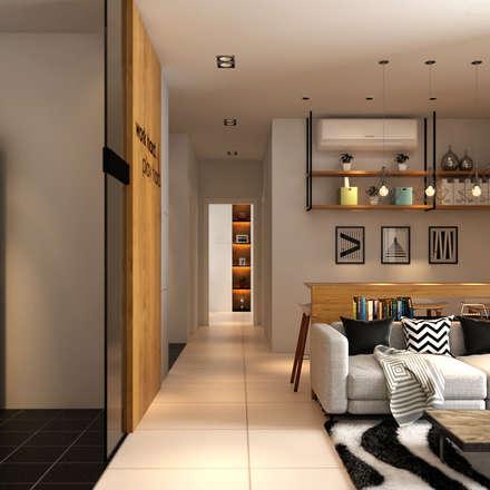 Corridor & hallway by Norm designhaus