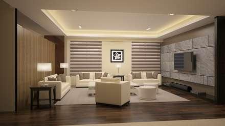 Oficinas y Tiendas de estilo  por 司創仁和匯鉅設計有限公司