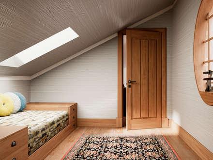 Pent House Apartment with middle eastern and oriental twist, Estoril: Quartos ecléticos por Inêz Fino Interiors, LDA