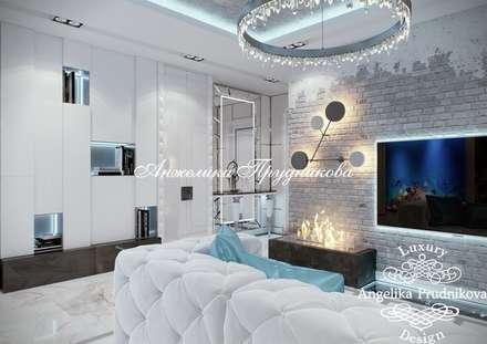 industrial Dressing room by Дизайн-студия элитных интерьеров Анжелики Прудниковой