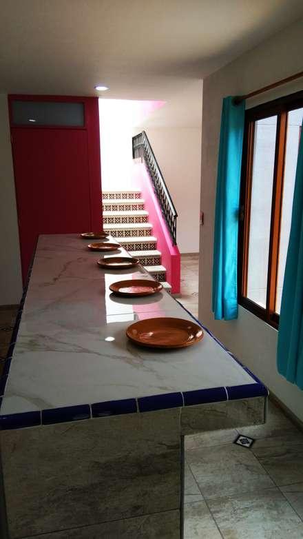 مطبخ ذو قطع مدمجة تنفيذ Itech Kali