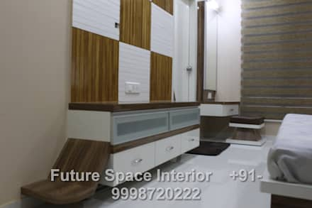 scandinavian Dressing room by Future Space Interior
