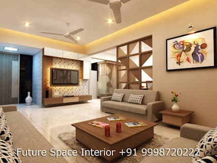 asian Dining room by Future Space Interior