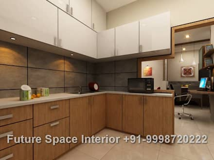tropical Kitchen by Future Space Interior