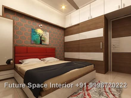 Residential Interiors: colonial Bedroom by Future Space Interior