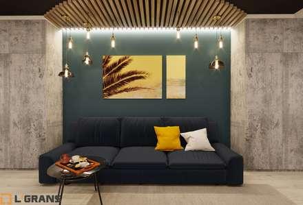 Дизайн интерьера 3-х помещений по ул. Краснореченская, 163: Гостиная в . Автор – Студия дизайна интерьера L'grans