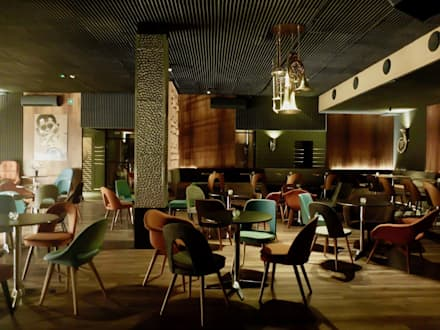 Bars & clubs by Projektowanie Wnętrz Kasya