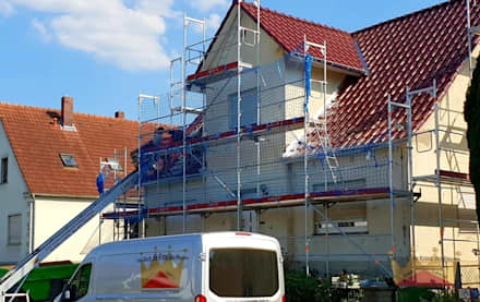 Dachdeckermeisterbetrieb Dirk Lange의  박공 지붕