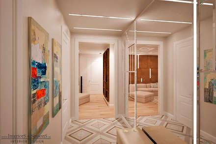 Квартира 104 кв.м в Москве на ул. Столетова: Коридор и прихожая в . Автор – InteriorS4SeasonS