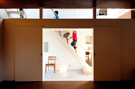 Takeru Shoji Architects.Co.,Ltd의  계단