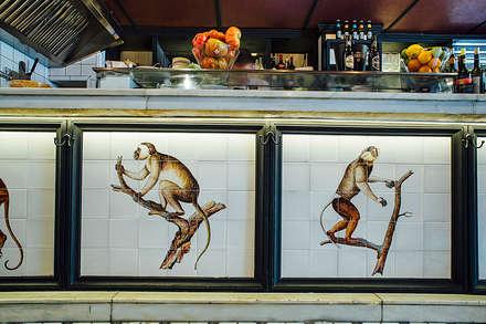 Restaurantes de estilo  por Artelux