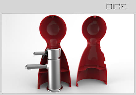 DICE - Kinder-Badezimmer im Spiele-Design: ausgefallene Badezimmer von InDezign