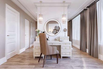 Дизайн-проект пентхауса: Спальни в . Автор – Style Home