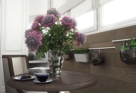 Дизайн-проект квартиры в пос. Успенское: Полы в . Автор – Style Home
