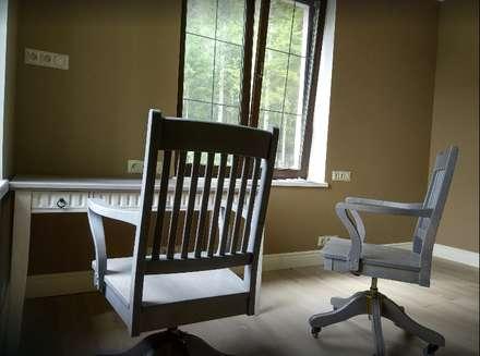 escritório home: Escritórios e Espaços de trabalho  por D O M | Architecture interior